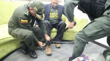 Manuel Nanclares luego de ser liderado le quitan las cadenas.