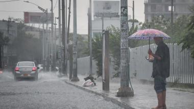 """Puede haber lluvia """"moderada"""" durante la tarde de este domingo en el Atlántico: Ideam"""
