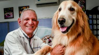 Belisario Roncallo, veterinario.