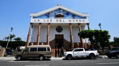 Iglesia 'La luz del mundo' en California.