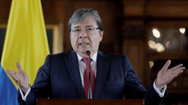 Canciller colombiano dice que Diosdado Cabello usa mentiras para enlodarlo
