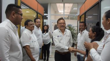Prasca regresa a UA y anuncia inicio de obras de la sede de Sabanalarga