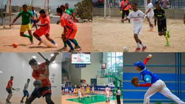 ¡A jugar se dijo! | Ráquetbol, béisbol y baloncesto en los barrios de Barranquilla