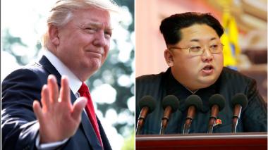 """Trump dice que recibió una """"preciosa carta"""" de Kim Jong Un"""