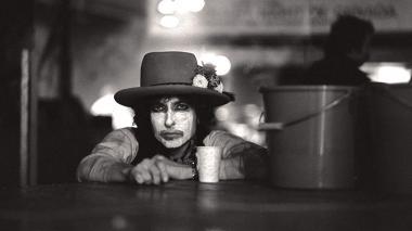 Bob Dylan en el documental 'Rolling Thunder Revue'.