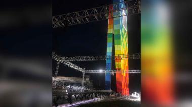 En una tarima de 30 metros de largo las diseñadoras darán a conocer sus colecciones.