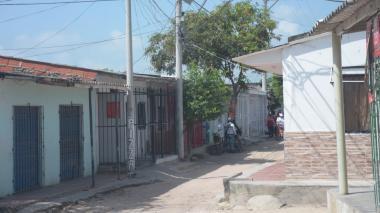 Jaime Amaya Montaguth fue ultimado en esta zona.