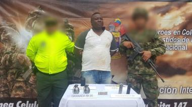 Capturan a presunto extorsionista en la zona costera de Córdoba