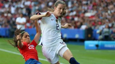 EEUU derrota 3-0 a Chile y pasa a octavos del Mundial femenino