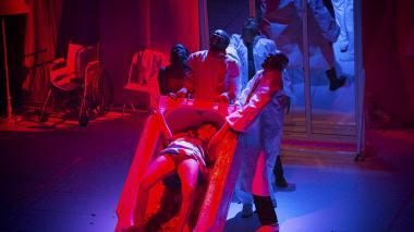 Escena de la obra 'Ofelia o la madre muerta'.