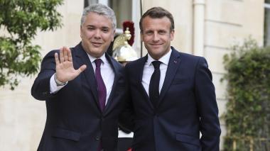 Duque dice que Francia quiere ayudar a Colombia en crisis migratoria