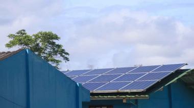 Proyecto de energía renovable.