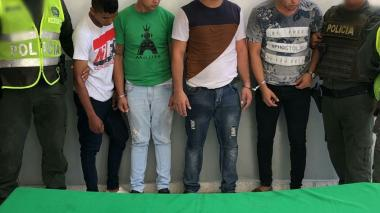 En video | Cuatro hombres capturados en frustrado robo en La Alboraya