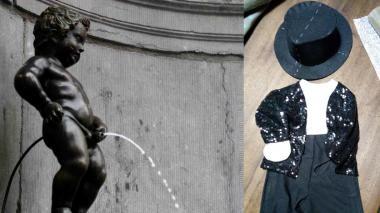 Bruselas rechaza vestir de Michael Jackson a su famosa estatua del Manneken-Pis