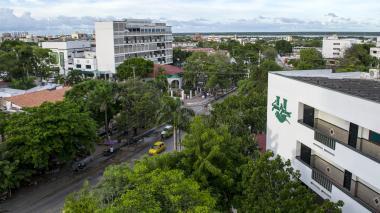 Sede de la Universidad.