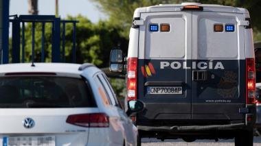 Imagen de una patrulla de la policía española.