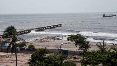 El martes comienza demolición del muelle de Puerto Colombia