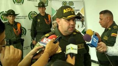 """""""Criminales dispararon para atemorizar a los que estaban en el velorio de alias Yimmy"""": Policía"""
