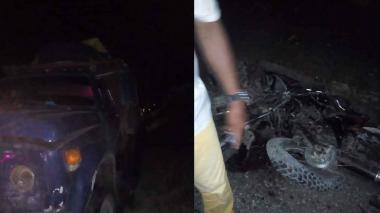 Nueve muertos en choque de volqueta contra motos en Córdoba