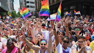 NY celebra el Orgullo Gay con dos marchas, a 50 años de Stonewall