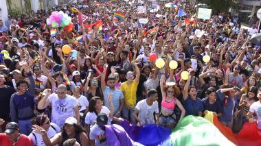 En video | El orgullo se pintó de arcoíris
