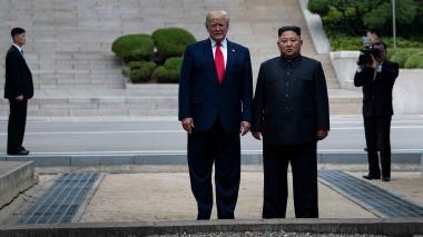 """China saluda el """"gran alcance"""" de la cumbre Trump-Kim"""