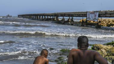 Esta semana comienzan trabajos en el muelle de Puerto Colombia