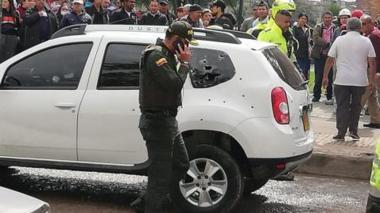 Un policía muerto y otro herido deja balacera en el sur de Bogotá