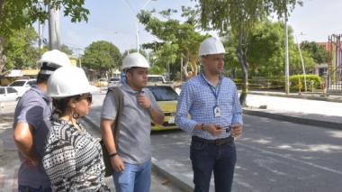 Obras del SEPT de Santa Marta  avanzan 72%