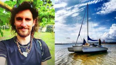 Extraviado en el Caribe, italiano que navegaba a Barranquilla