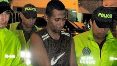 Hernando Rafael Padilla Aguirre capturado el pasado viernes en el barrio Los Ángeles