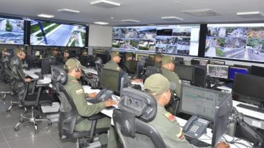 Las cámaras serán monitoreadas desde el Centro Automático de Despacho de la Policía de Cartagena.
