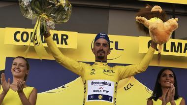 Sagan gana la quinta etapa del Tour de Francia
