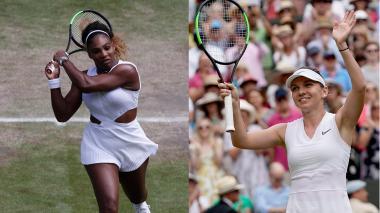 Serena Williams vs. Halep, la final de Wimbledon femenina