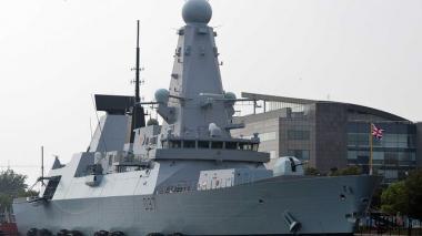 El HMS Duncan fue enviado para defender los intereses británicos.
