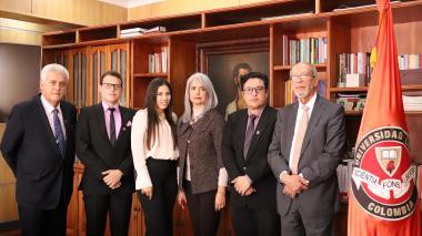 Presidencia de la República reconoce a jóvenes talentos de la Universidad Libre