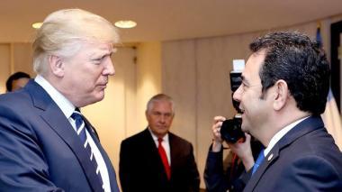 Gobierno de Guatemala cancela cita con Trump y niega supuesto acuerdo migratorio