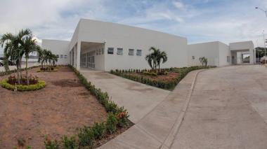 Hospital Regional San Antonio de Padua, en Simití, Bolívar, donde se recuperan madre e hija.