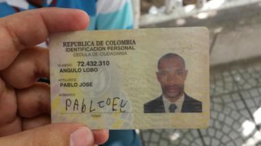 Pablo José Angulo Lobo.