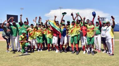 Bolívar se queda con el título en el Nacional de béisbol categoría sub-15