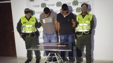 Capturan fleteros que habían robado a adulta mayor en Palmar de Varela