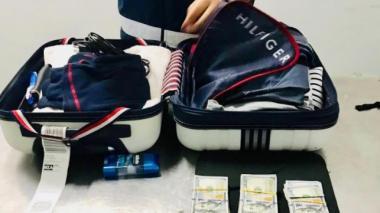 En el aeropuerto Ernesto Cortissoz fueron aprehendidas divisas por valor de 28 mil dólares a un pasajero que salía del país con rumbo a Estados Unidos.