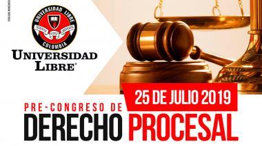 Unilibre realizará mañana pre-congreso de derecho procesal