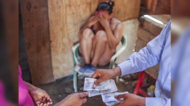 Foto ilustración sobre  la trata de personas, delito que describe la ONU como violación a los derechos humanos.