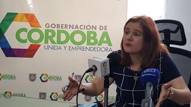 Gobernadora de Córdoba.