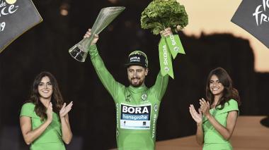 Sagan promociona su carrera en Barranquilla