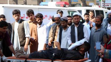 34 muertos en Afganistán por bomba