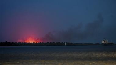 El impacto de los incendios forestales