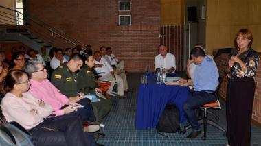 Reunión reciente del Consejo de Política Social.