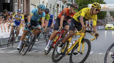 Egan Bernal, ciclista colombiano y campeón del Tour de Francia 2019.